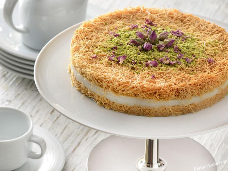 طرز تهیه ی شیرینی کادایف