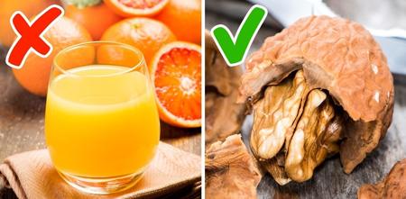 مواد غذایی کهنباید با معده خالی مصرف کنید
