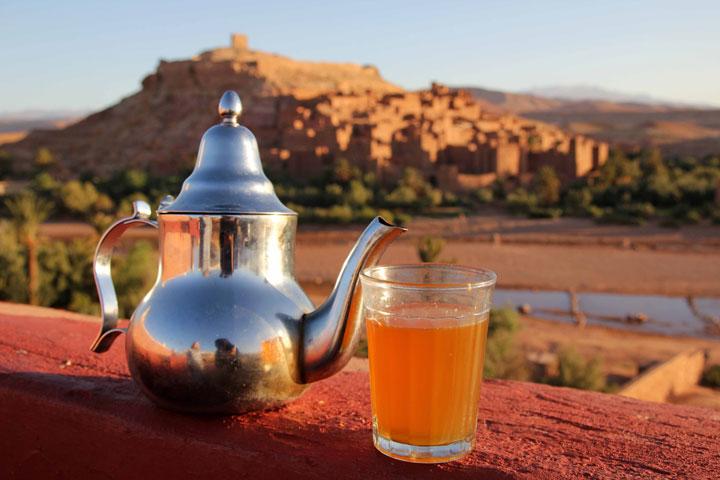 خواص چای مراکشی